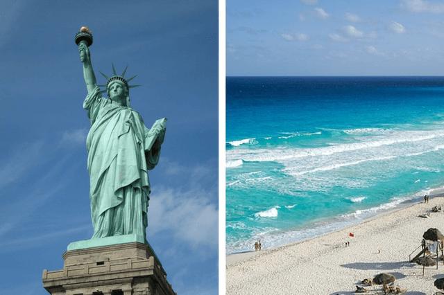 ¡WOW! VUELOS A NUEVA YORK Y CANCÚN POR SÓLO 569EUROS TODOS LOS TRAYECTOS