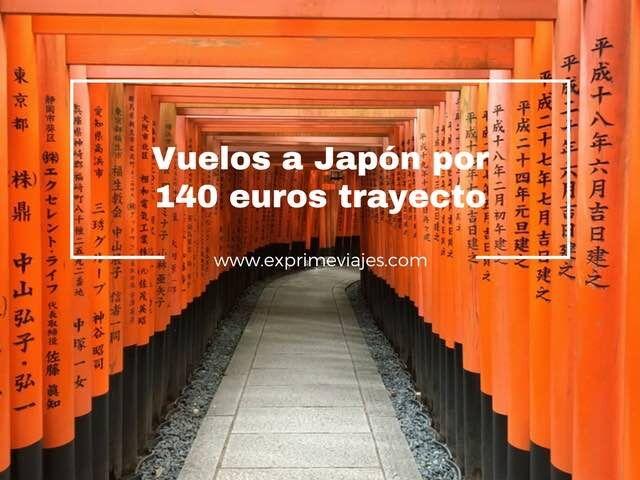 VUELOS A JAPÓN POR 140EUROS TRAYECTO (IDA ROMA, VUELTA LONDRES)