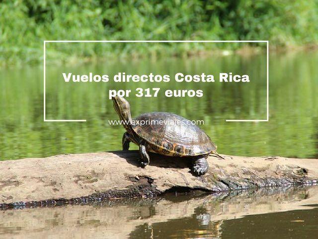 VUELOS DIRECTOS A COSTA RICA POR 317EUROS DESDE LONDRES