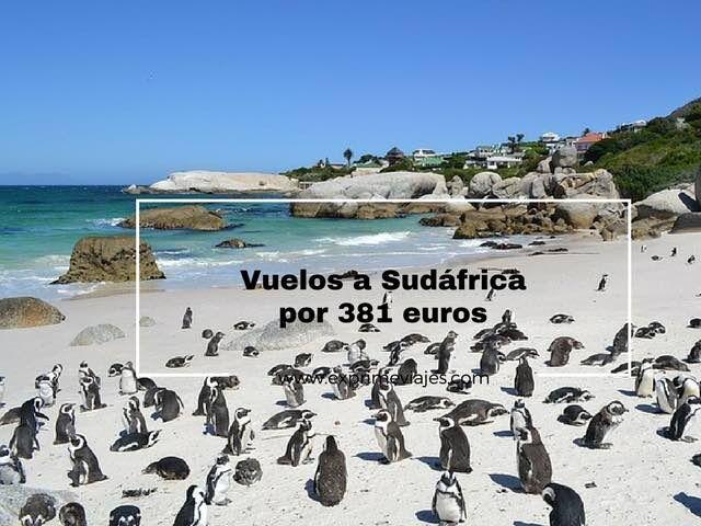 VUELOS BARATOS A SUDÁFRICA POR 381EUROS