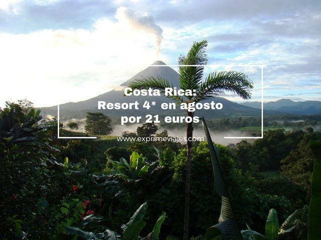 COSTA RICA EN AGOSTO: ECO RESORT 4* POR 21EUROS