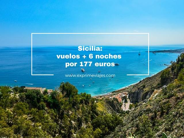 SICILIA: VUELOS + 6 NOCHES EN 4* POR 177EUROS