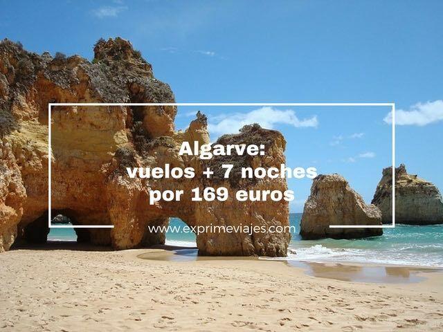 ALGARVE: VUELOS + 7 NOCHES POR 169EUROS