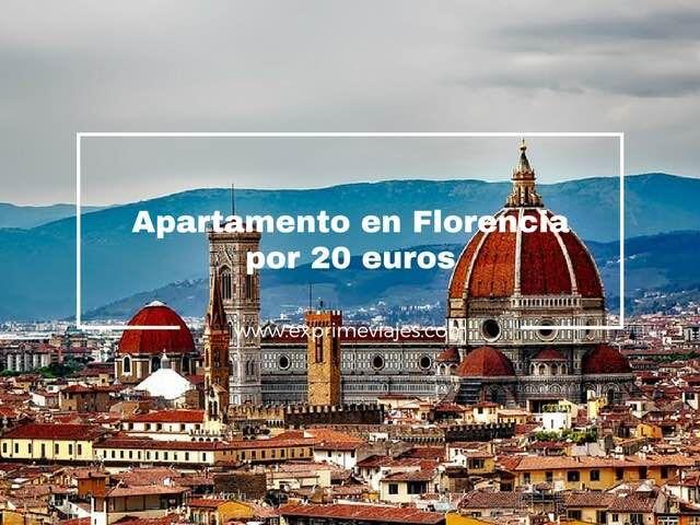FLORENCIA: APARTAMENTO POR 20EUROS
