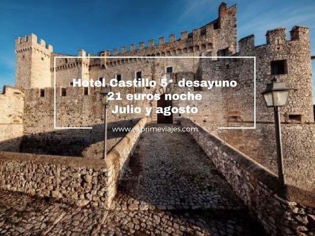 ¡CHOLLO! HOTEL CASTILLO 5* ROMA CON DESAYUNO POR 21EUROS