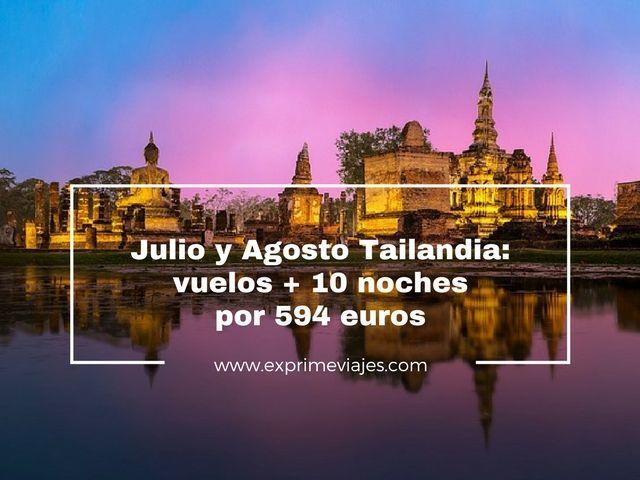 TAILANDIA JULIO Y AGOSTO: VUELOS QATAR + 10 NOCHES POR 594EUROS