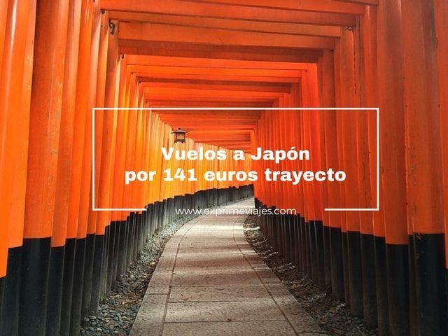 ¡WOW! VUELOS A JAPÓN POR 141EUROS TRAYECTO