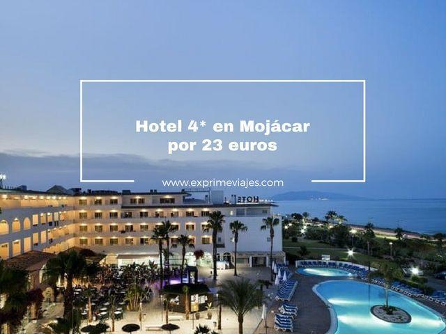 MOJÁCAR A PIE DE PLAYA: HOTEL 4* POR 23EUROS