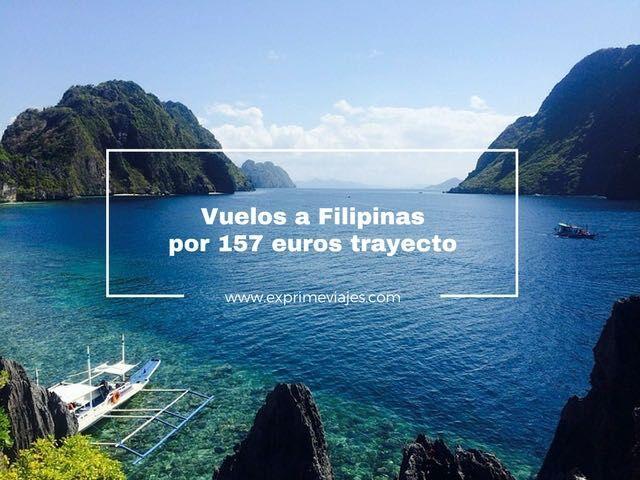 VUELOS A FILIPINAS POR 157EUROS TRAYECTO
