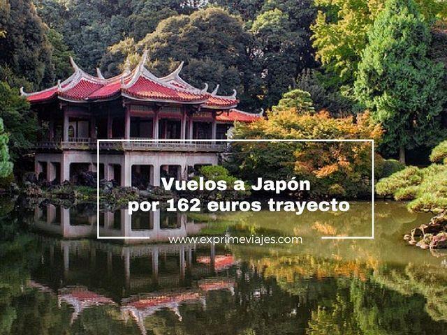 VUELOS A JAPÓN POR 162EUROS TRAYECTO