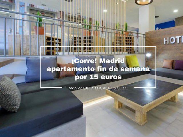 Madrid apartamento fn de semana por 15 euros exprime viajes - Apartamentos baratos madrid por dias ...