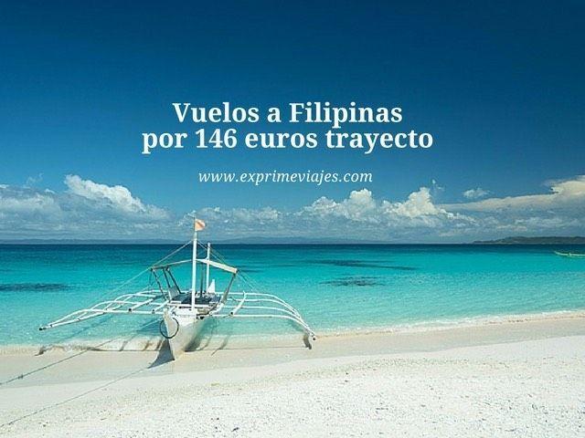 VUELOS A FILIPINAS POR 146EUROS TRAYECTO DESDE GINEBRA