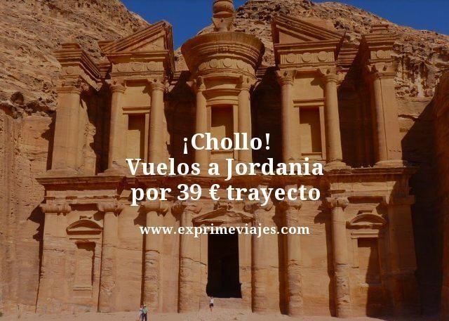 ¡CHOLLO! VUELOS A JORDANIA POR 39EUROS TRAYECTO