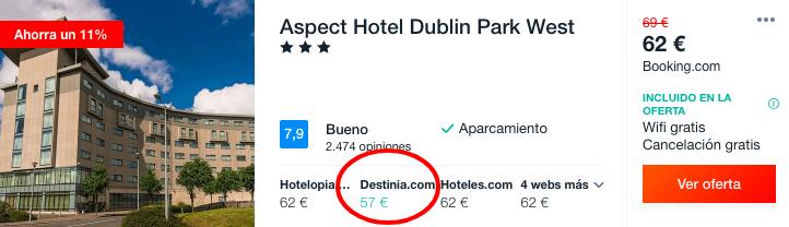 dublin dormir barato 28 euros