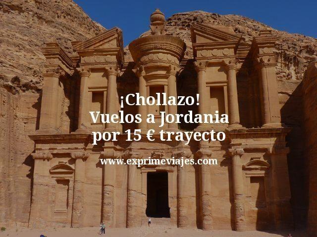¡Chollazo! Vuelos a Jordania por 15euros trayecto