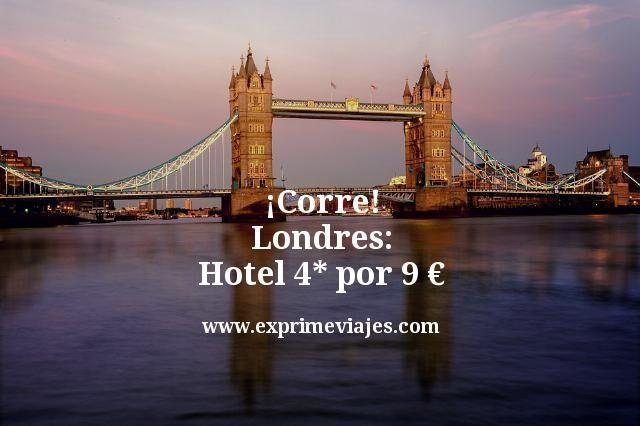¡Corre! Londres: Hotel Boutique 4* por 9euros