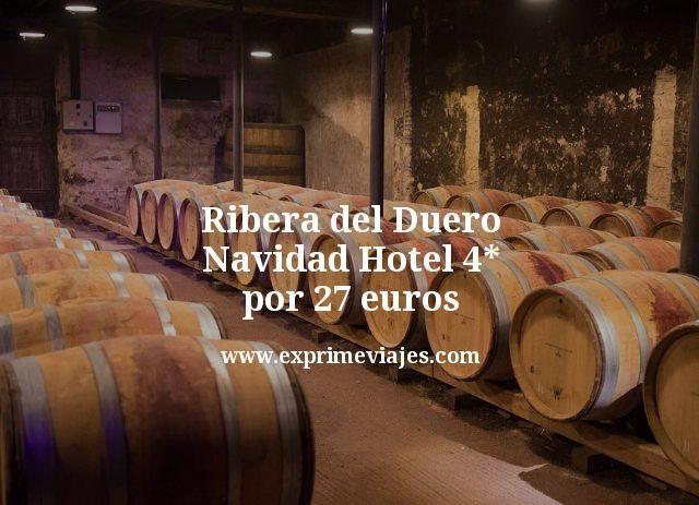 Ribera del Duero Navidad: Hotel 4* por 27euros