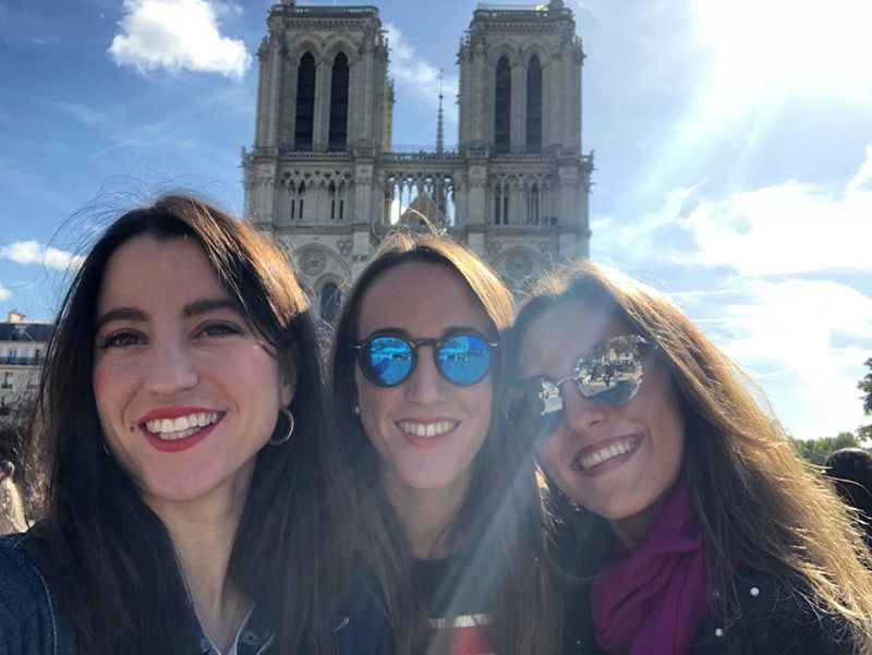 Viajar con amigas París