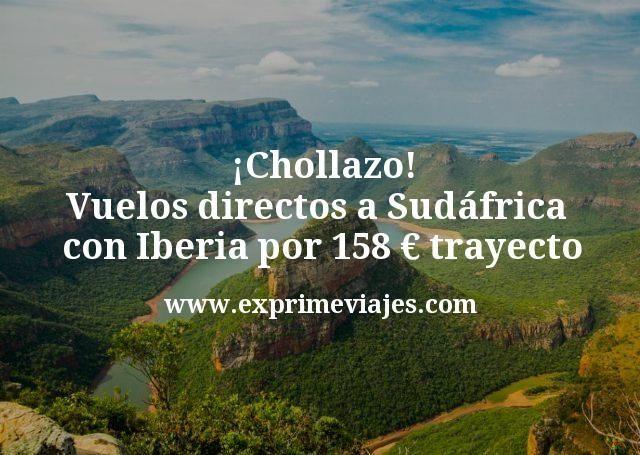 ¡Chollazo! Vuelos directos a Sudáfrica con Iberia por 158€ trayecto