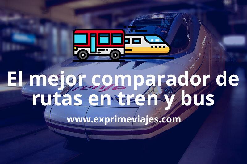 Omio, los mejores precios de autobuses, trenes y vuelos en un mismo buscador