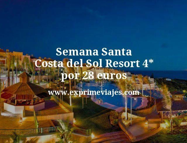 Semana Santa Costa del Sol: Resort 4* por 28euros