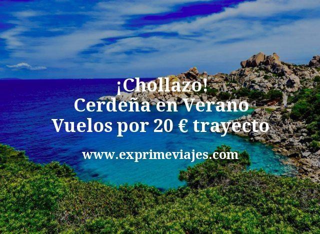 ¡Chollazo! Cerdeña en Verano: Vuelos por 20euros trayecto