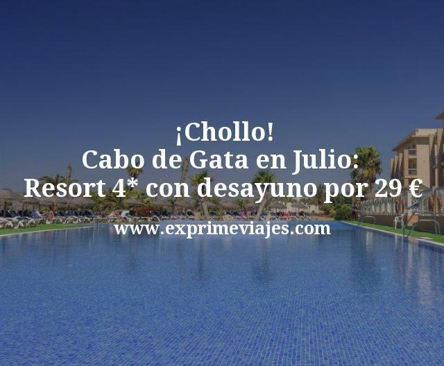 ¡Chollo! Cabo de Gata en Julio: Resort 4* con desayuno por 29€ p.p/noche