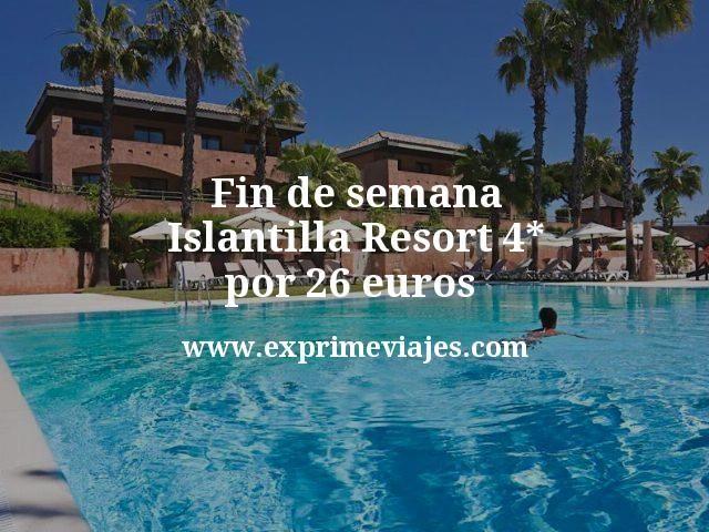 Fin de semana Islantilla: Resort 4* por 26euros p.p/noche