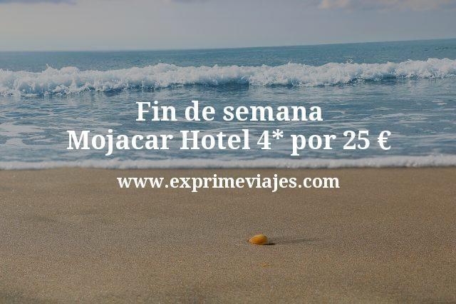 Fin de semana Mojacar: Hotel 4* por 25euros