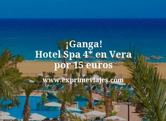 ¡Ganga! Hotel Spa 4* en Vera por 15€ p.p/noche