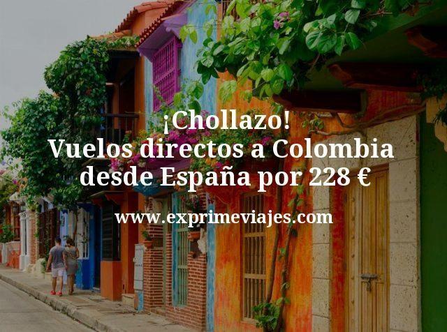 ¡Chollazo! Vuelos directos a Colombia desde España por 228euros