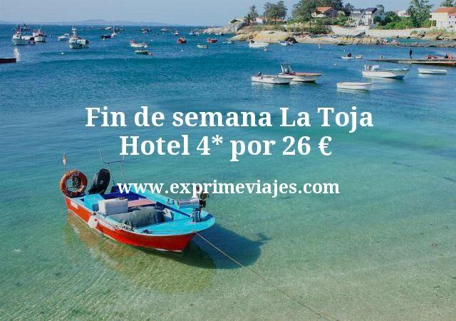 Fin de semana La Toja: Hotel 4* por 26€ p.p/noche