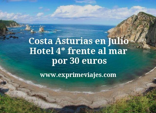 Costa Asturias en Julio: Hotel 4* frente al mar por 30€ p.p/noche
