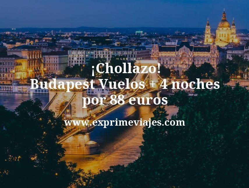 ¡Chollazo! Budapest: Vuelos + 4 noches por 88euros