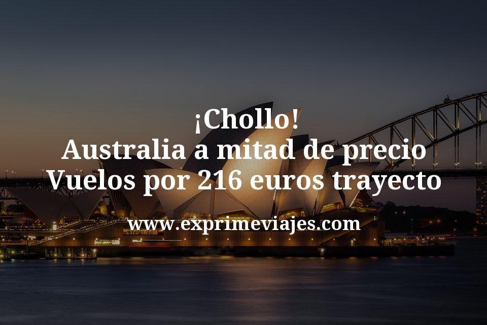 ¡Chollo! Australia a mitad de precio: Vuelos por 216€ trayecto