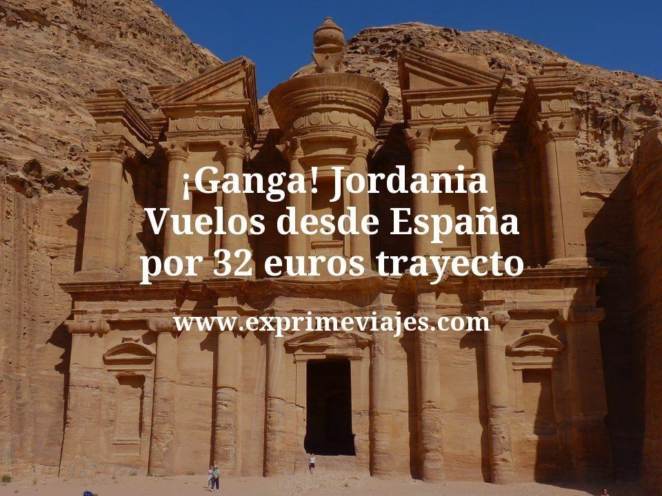 ¡Ganga! Jordania: Vuelos desde España por 32euros trayecto