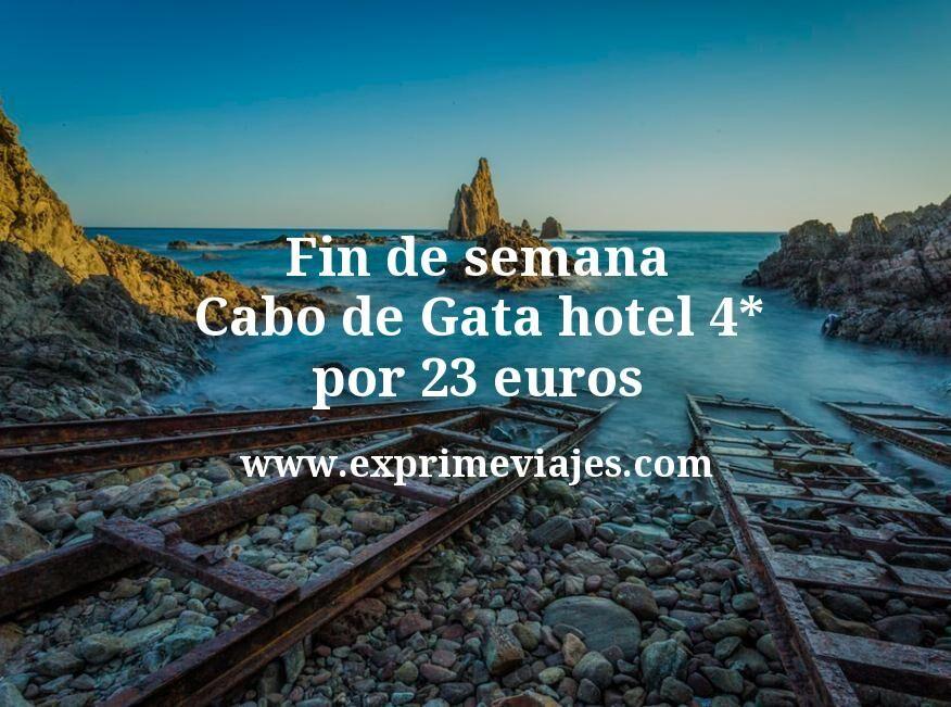 Fin de semana Cabo de Gata: Hotel 4* por 23€ p.p/noche