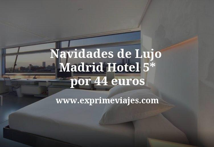 Navidades de Lujo Madrid: Hotel 5* por 44€ p.p/noche