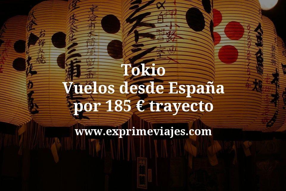 ¡Chollazo! Vuelos a Japón por 185€ trayecto