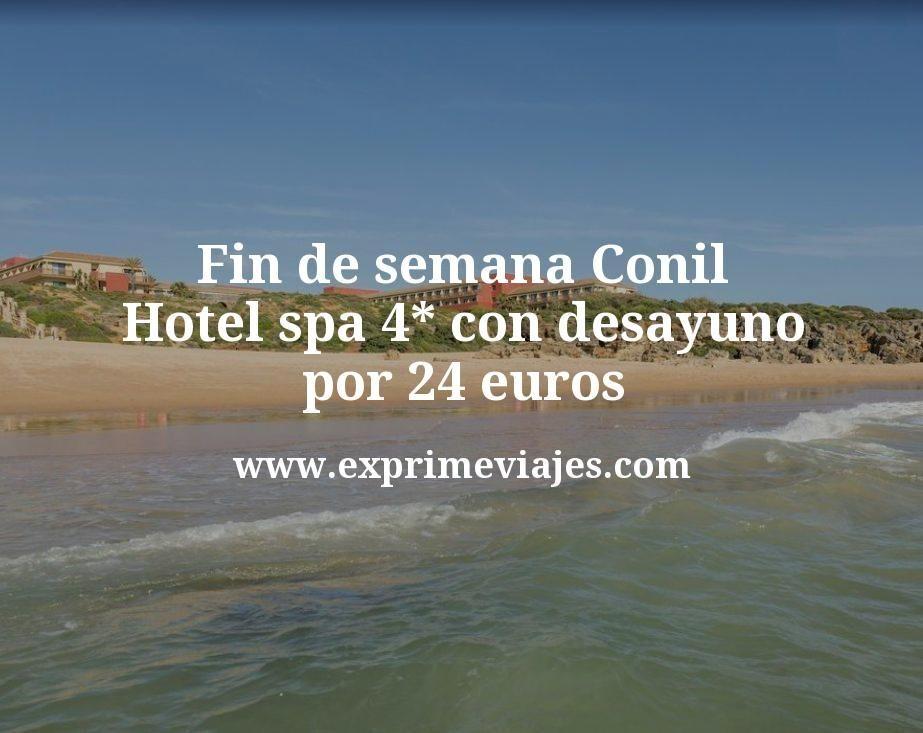 Fin de semana Conil: Hotel spa 4* con desayuno por 24€ p.p/noche