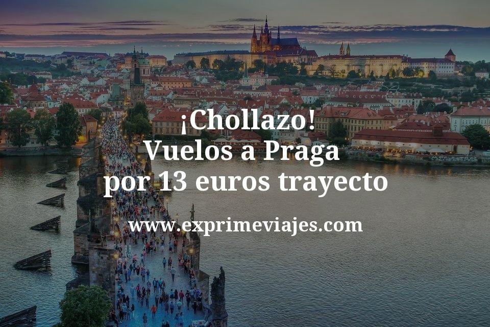 ¡Chollazo! Vuelos a Praga por 13euros trayecto