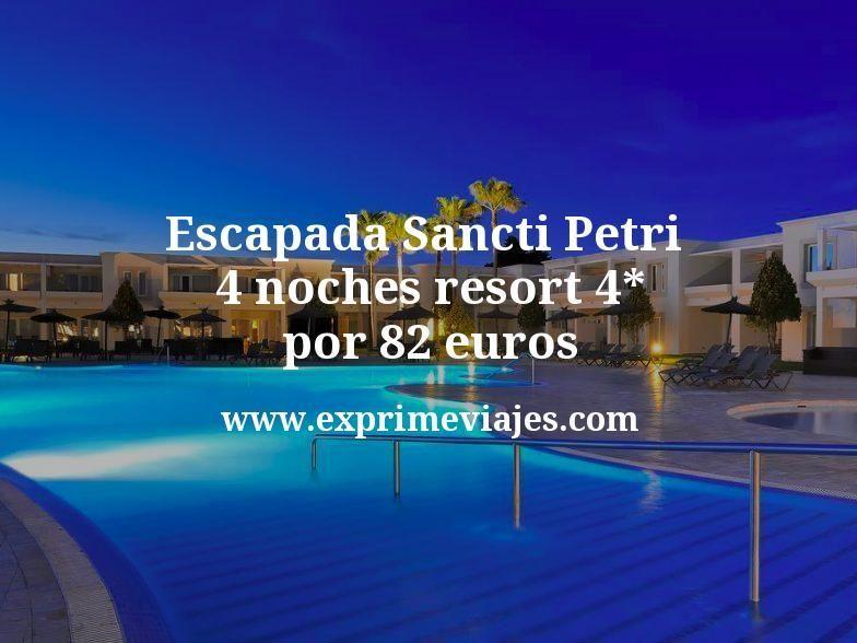 Escapada Sancti Petri (Cádiz): 4 noches resort 4* por 82€ p.p