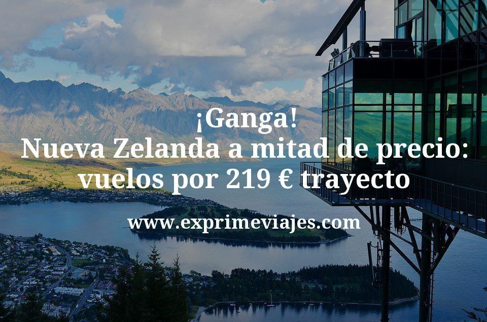 ¡Ganga! Nueva Zelanda a mitad de precio: vuelos por 219€ trayecto