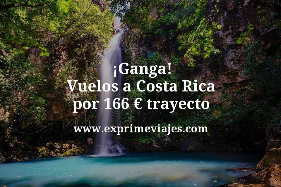 ¡Ganga! Vuelos a Costa Rica por 166€ trayecto