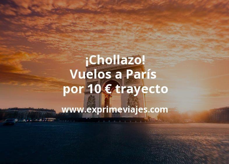 ¡Chollazo! Vuelos a París por 10euros trayecto