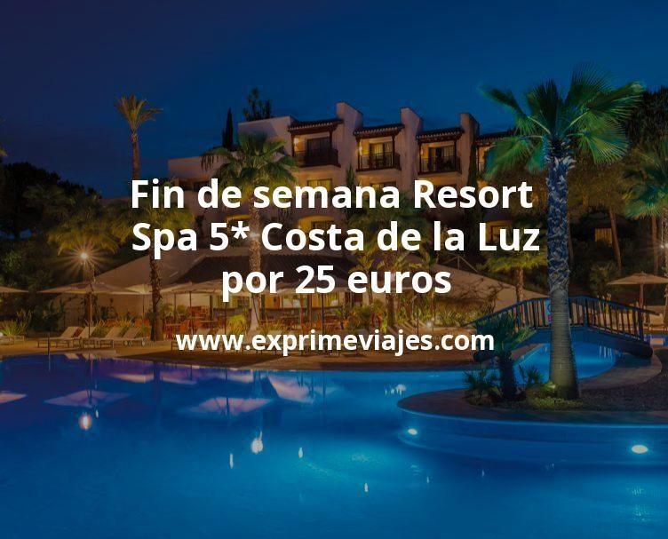 ¡Ganga! Fin de semana Resort Spa 5* Costa de la Luz por 25euros
