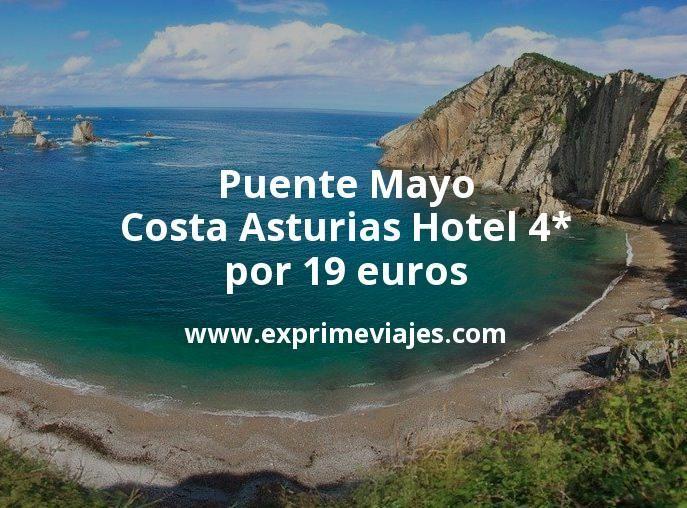 Puente Mayo Costa Asturias: Hotel 4* por 19€ p.p/noche