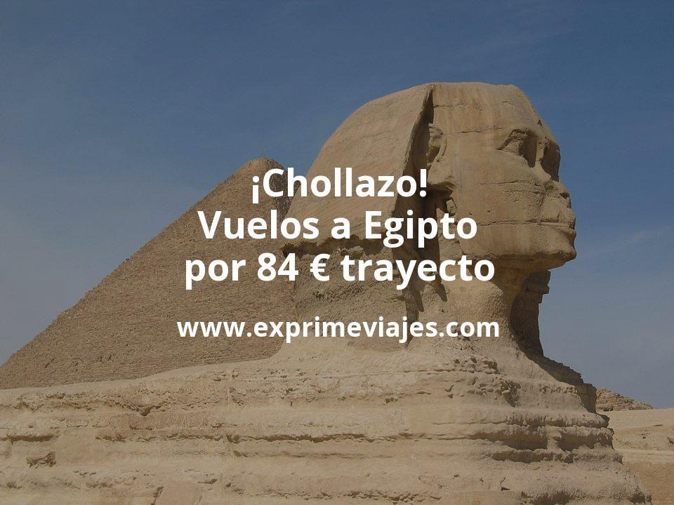 ¡Chollazo! Vuelos a Egipto por 84euros trayecto