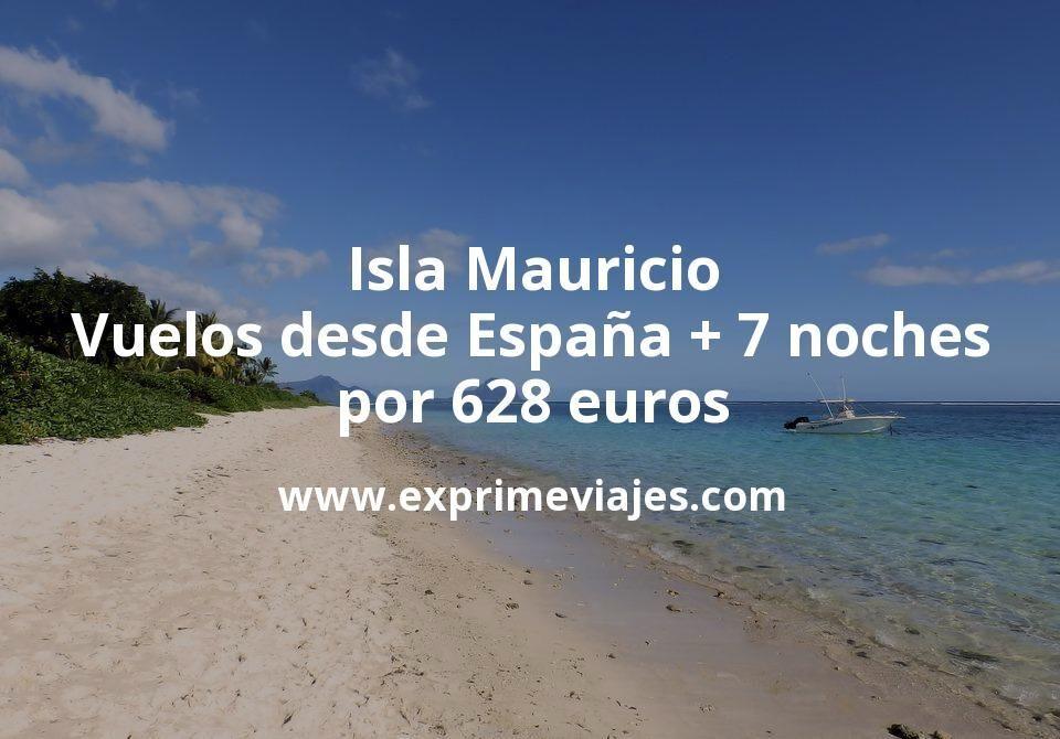 ¡Wow! Isla Mauricio: Vuelos desde España + 7 noches por 628euros