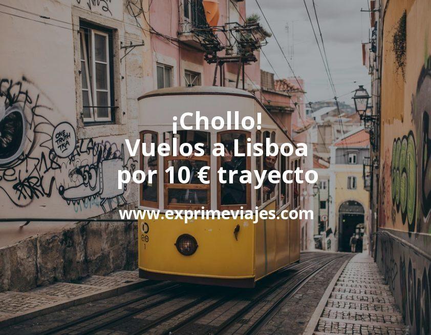 ¡Chollo! Lisboa: Vuelos por 10euros trayecto